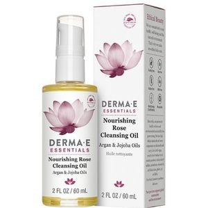 Derma e nourishing rose cleansing face argan oil